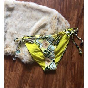 Moroccan bikini bottoms with gemstone side ties